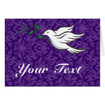 Dove designs greeting card