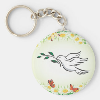Dove designs key chains