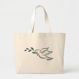 Dove designs large tote bag