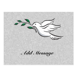 Dove designs postcard