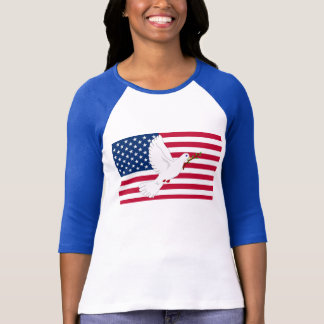 Dove & Flag T-Shirt