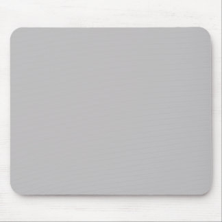 Dove Grey Gray Silver Solid Trend Color Background Mouse Pad