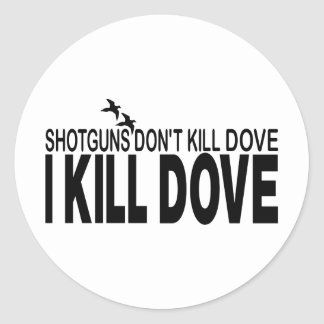 DOVE HUNTING STICKERS
