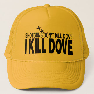 DOVE HUNTING TRUCKER HAT