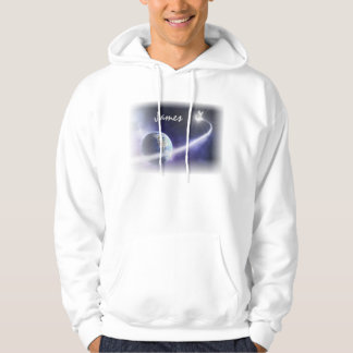 Dove in Space Hooded Sweat Hoodie