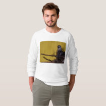 dove in the nest animal photo sweatshirt