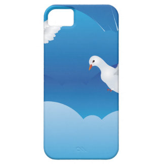 Dove in the Sky 3 iPhone SE/5/5s Case