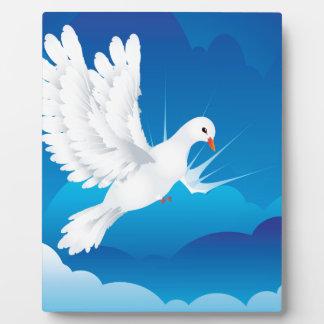 Dove in the Sky 5 Plaque