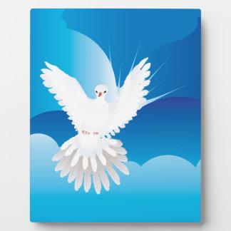 Dove in the Sky Plaque