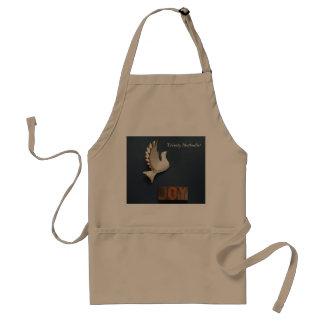 Dove joy adult apron