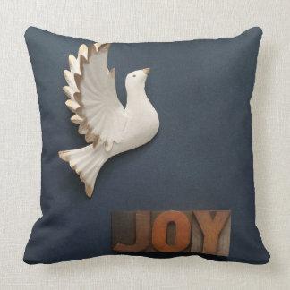 Dove joy throw pillow