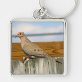 Dove Keychain