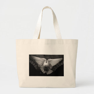 Dove Large Tote Bag