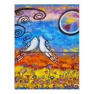 Dove Love Post Card