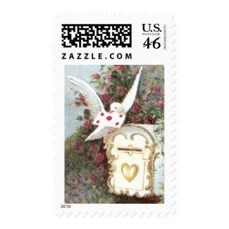 Dove & Mailbox stamp