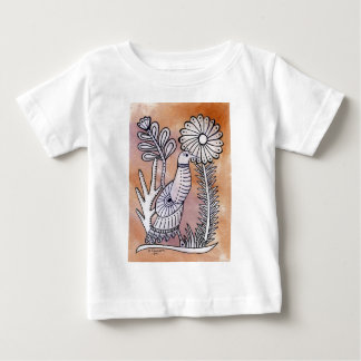 Dove, Mexican Bark Style Baby T-Shirt