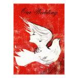 Dove of a Women ~ Invitation