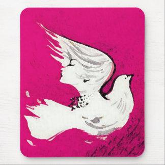 Dove of a Women~  Mousepad