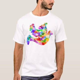 Dove of Hearts T-Shirt
