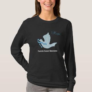 Dove of Hope Light Blue Ribbon - Prostate Cancer T-Shirt