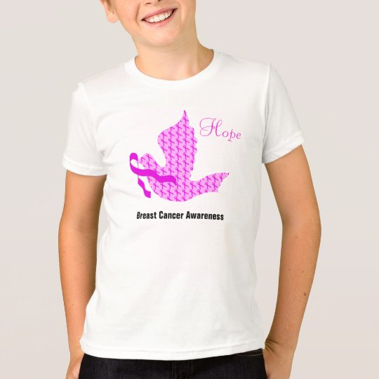 Dove of Hope Pink Ribbon - Breast Cancer T-Shirt