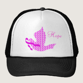 Dove of Hope Pink Ribbon - Breast Cancer Trucker Hat
