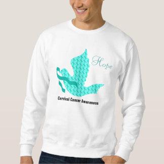 Dove of Hope - Teal Ribbon (Cervical Cancer) Sweatshirt
