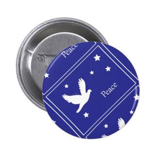 dove of peace 2 inch round button