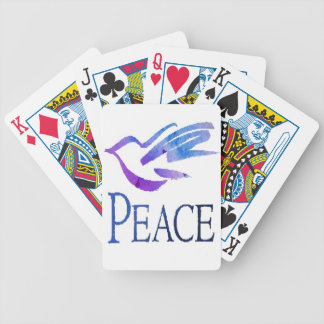 Dove Of Peace Bicycle Card Deck