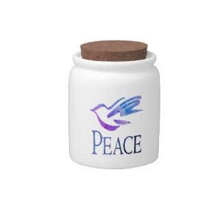 Dove Of Peace Candy Dishes