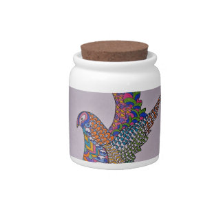 Dove Of Peace Candy Jar