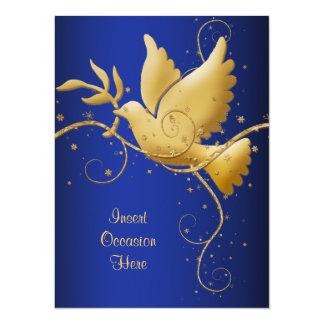 Dove of peace card