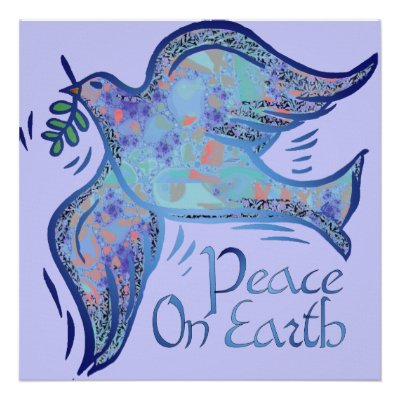 holiday dove of peace