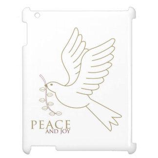 Dove of peace iPad cases