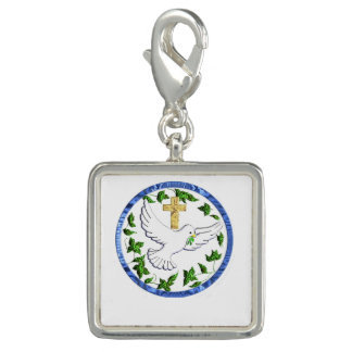 Dove of peace merchandise photo charms