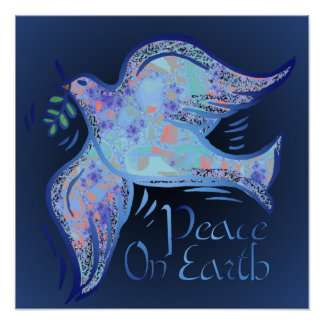 Dove of Peace Midnight Print