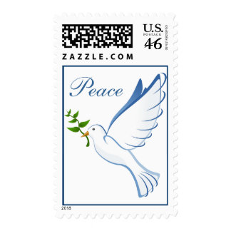 Dove of Peace Postage Stamp