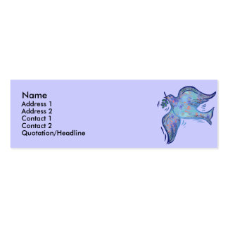 Dove of Peace Profile Cards Business Cards