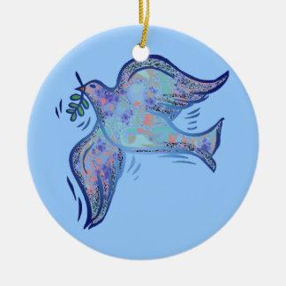 Dove of Peace san Writing Ornament