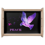 Dove of Peace Serving Tray