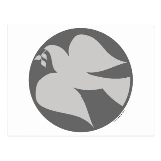 Dove of Peace Sign Post Cards