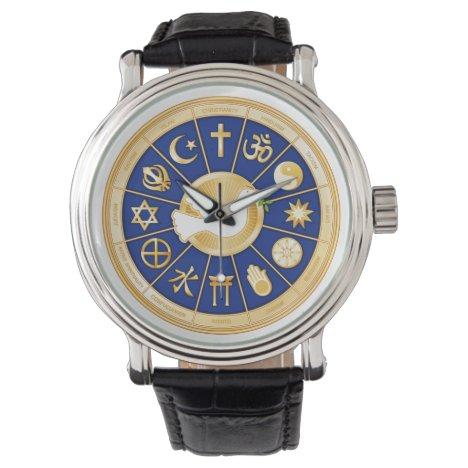 Dove of Peace Wristwatch