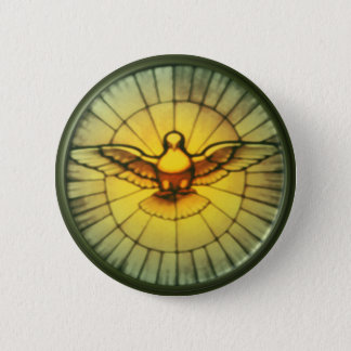 Dove of the Holy Spirit Button
