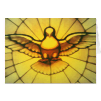 Dove of the Holy Spirit Card