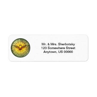 Dove of the Holy Spirit Return Address Label