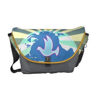 Dove Of  World Peace Sony ATV  Come Together Messenger Bag