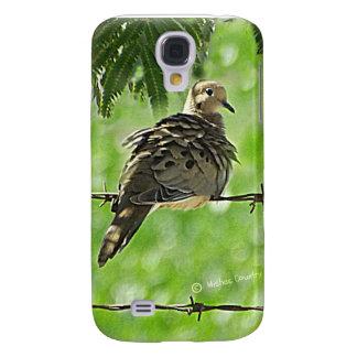 Dove on a Wire Samsung S4 Case