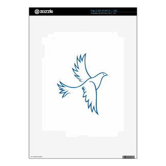 Dove Outline Skin For The iPad 2