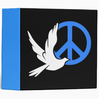 dove peace 3 ring binder