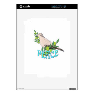 Dove Peace Decal For The iPad 2